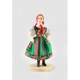 Lalka Łowiczanka 12 cm
