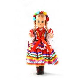Lalka Lublinianka czerwona 40 cm