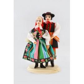 Lalki Para Łowicka 12 cm