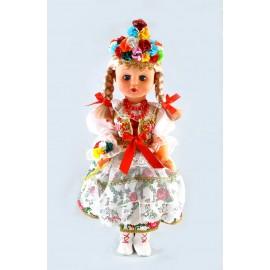Lalka Krakowianka w stroju ślubnym 50 cm